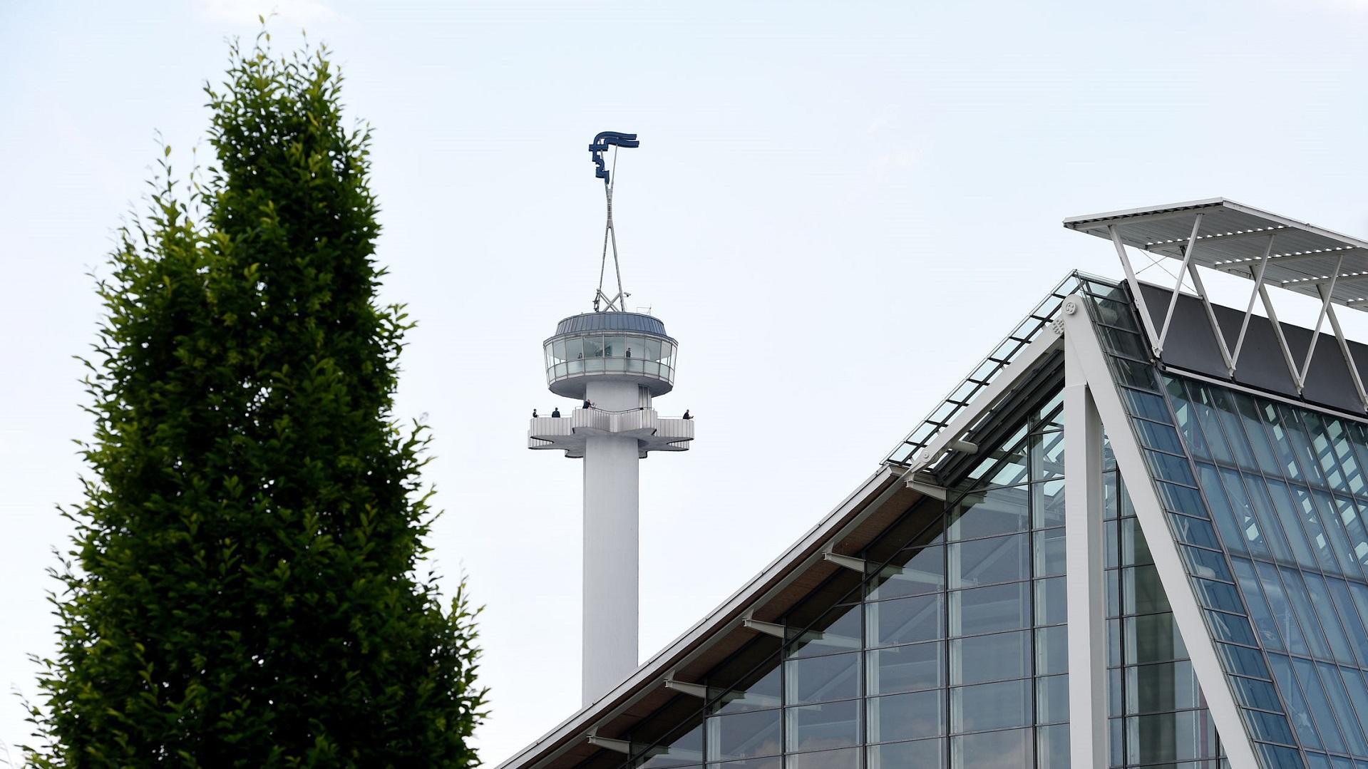 Hermesturm auf der Messe Hannover. Credits: Deutsche Messe