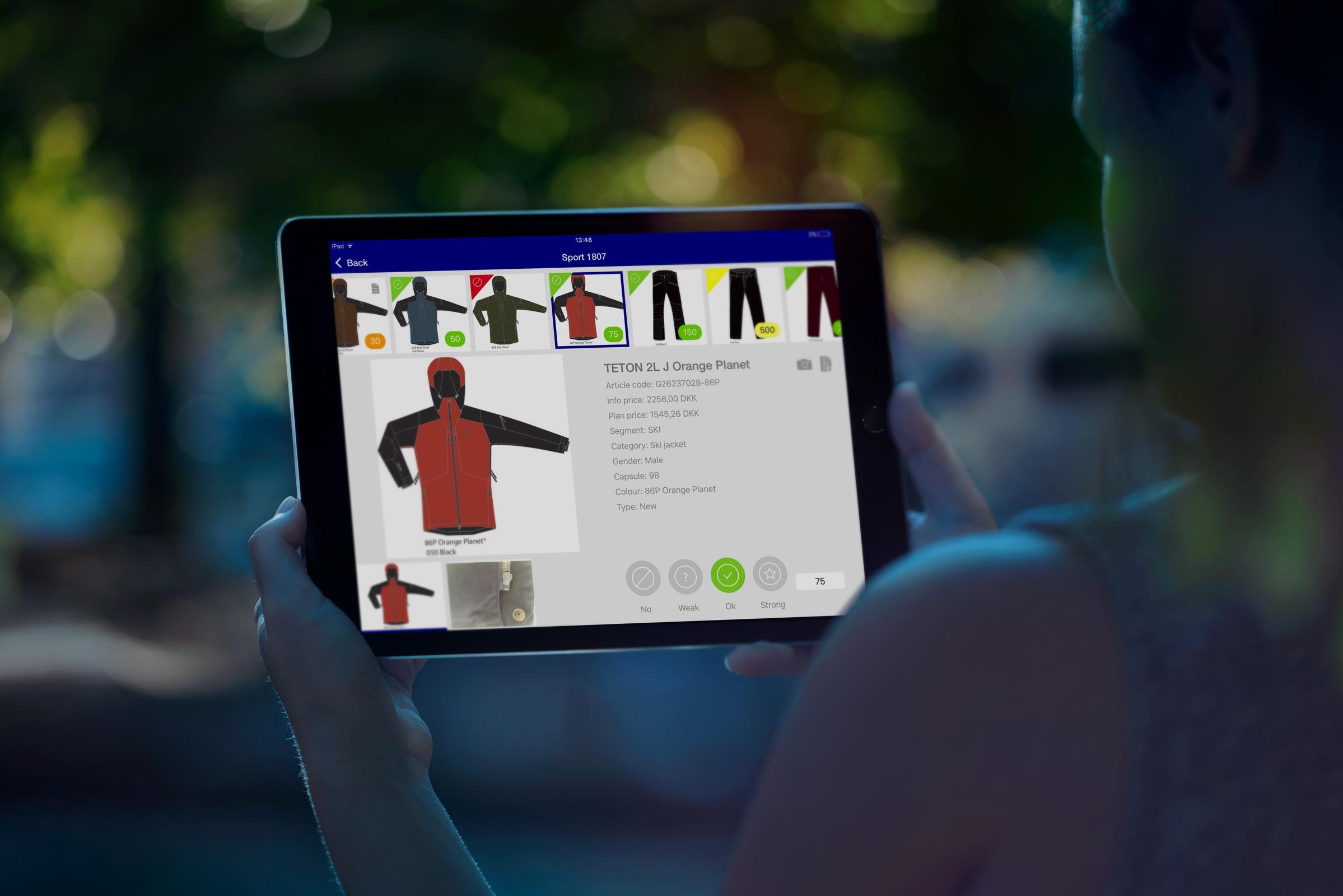 PRESET im Einsatz auf dem iPad
