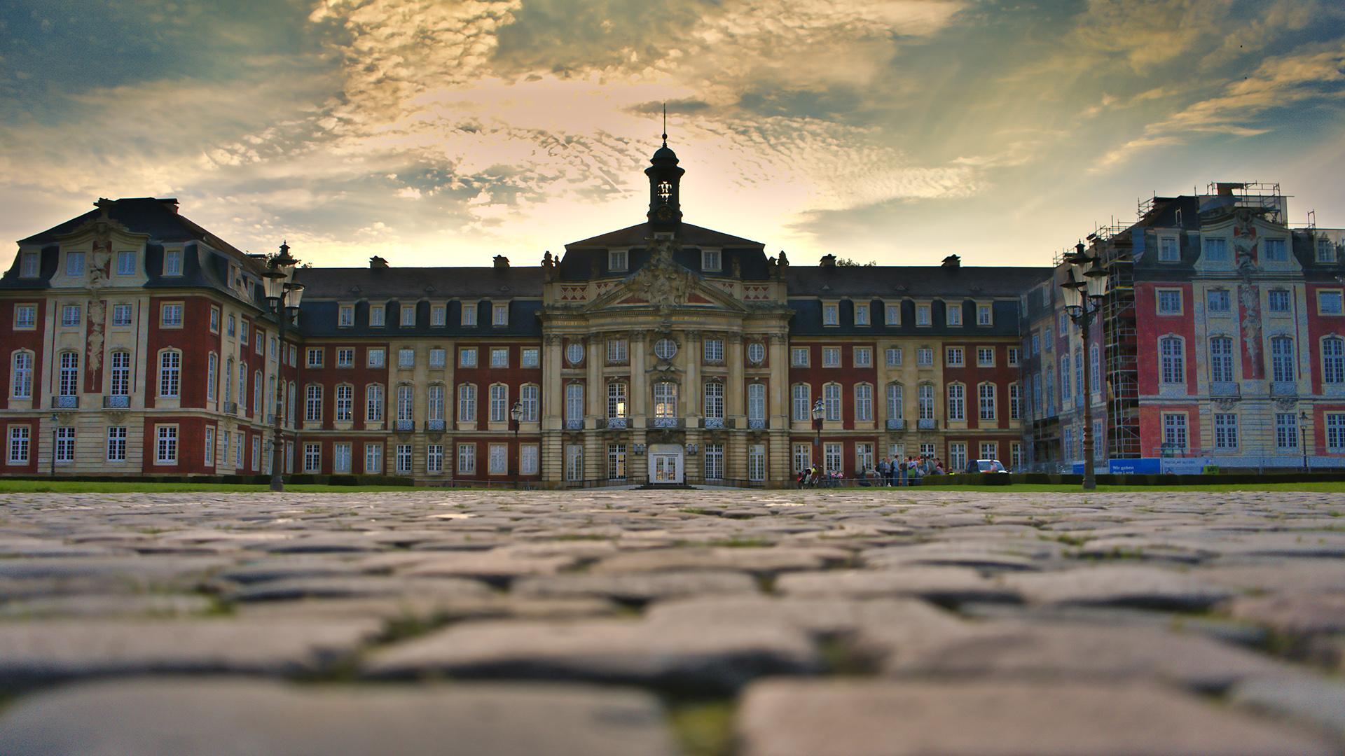 Die Westfälische Willhelms Universität im Schloss von Münster