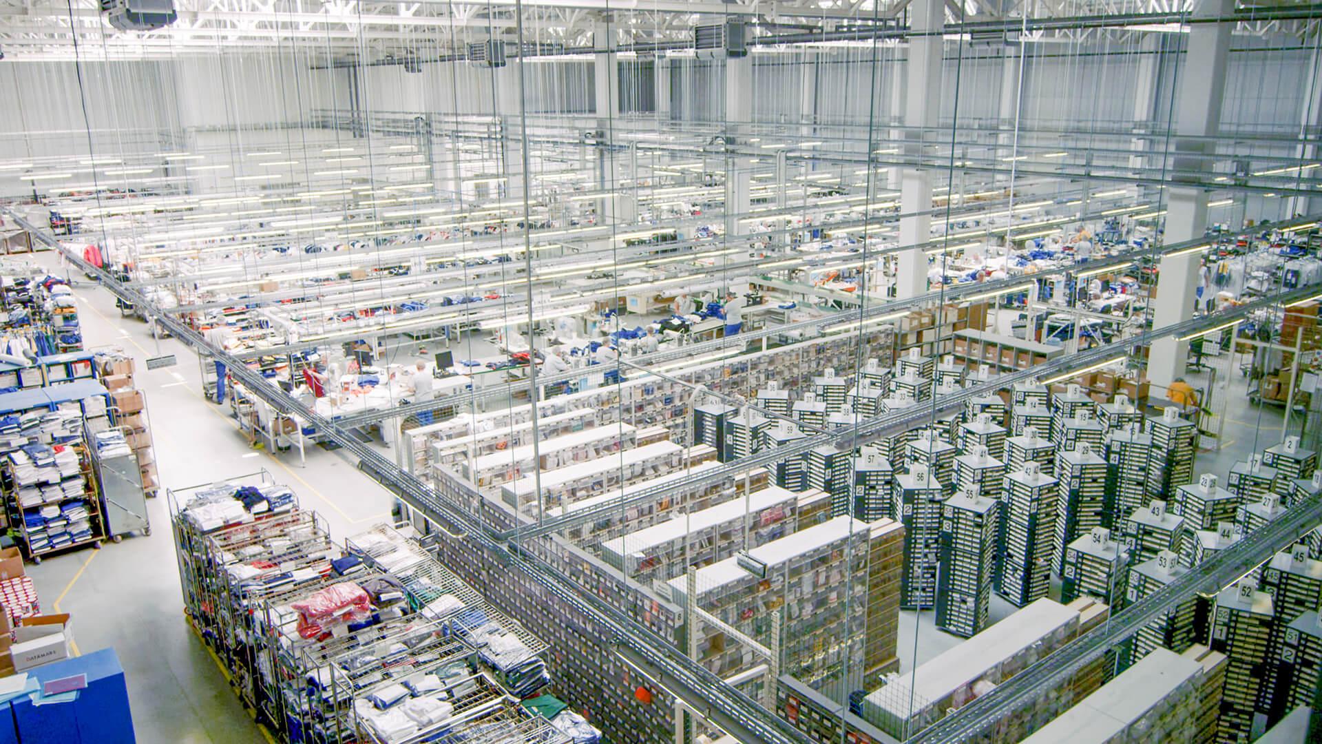 Produktionssstätte der CWS