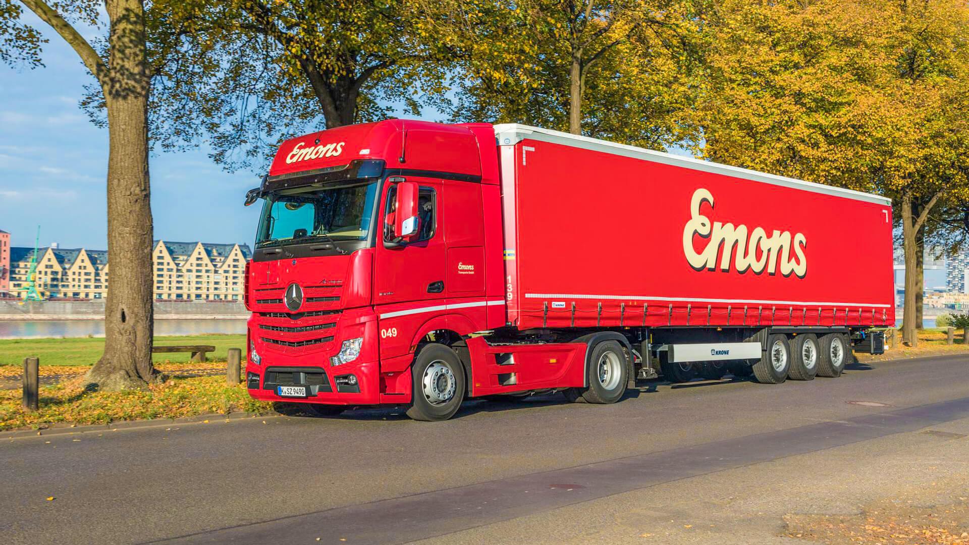 Emons Lastkraftwagen