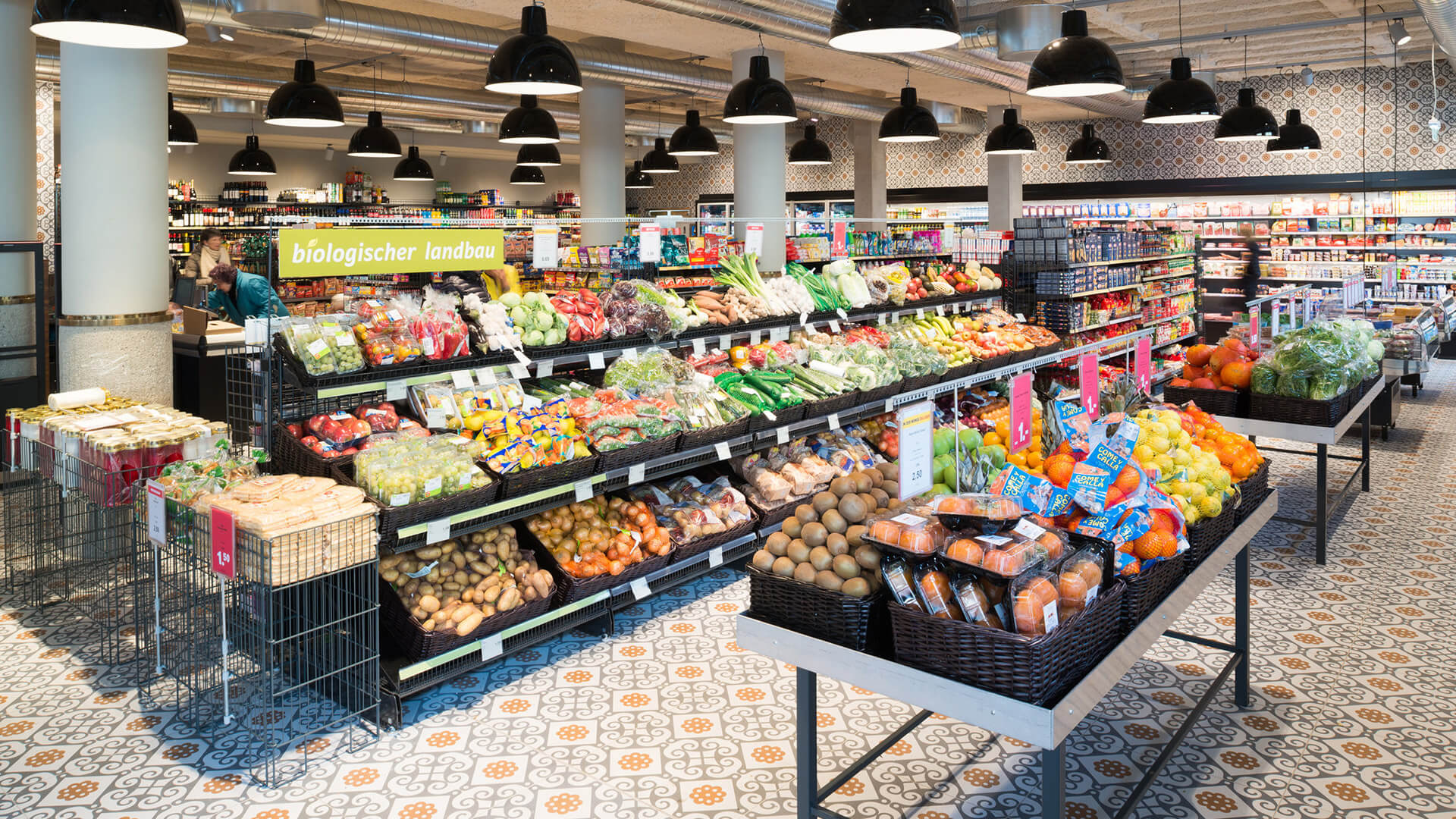 MPREIS fruit and vegetable department