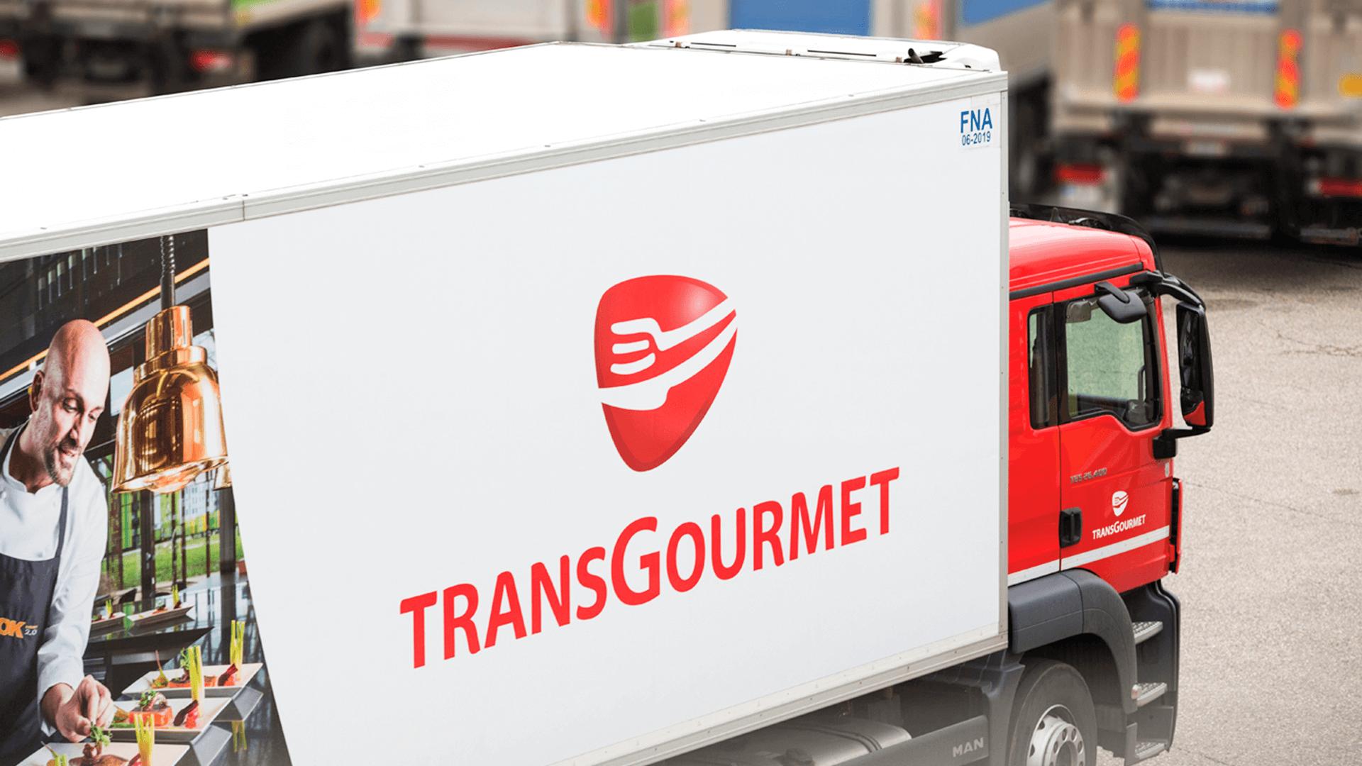 Transgourmet delivery van