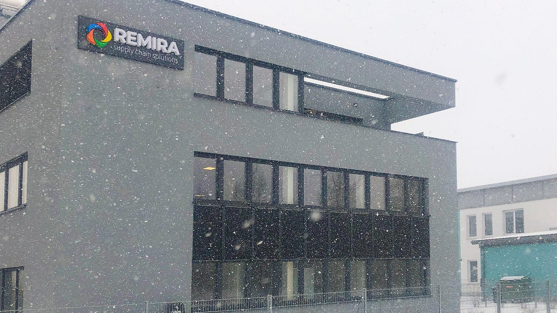 REMIRA Gebäude am Standort Regensburg